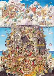 Heye - Heaven and Hell Jigsaw Puzzle