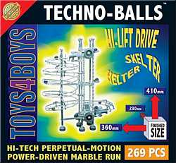 Techno-Balls 269-piece set